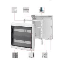 strahlwasserdichter Sicherungskasten IP65 Feuchtraum Aufputz Verteilerkasten