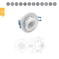 Bewegungsmelder 360° LED geeignet Decken Einbau...