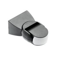 Bewegungsmelder Aufputz IP 65  innen und außen 180° Infrarot 1200 W Schwarz Weiß