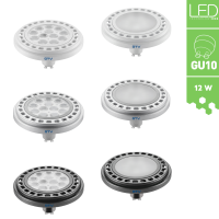 LED GU10 Leuchtmittel mit Power-LED-Chips GU10 12W...