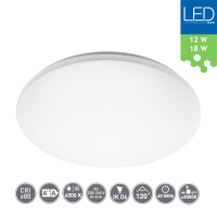 LED Deckenleuchte Wandleuchte elegant IP44 12W 18W 900lm...