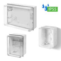 Industriegehäuse / Leergehäuse / Schaltkasten / Verteilerkasten / Abzweigkasten / IP55 / mit oder ohne Hutschiene