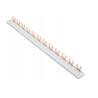 Sammelschiene Phasenschiene Kammschiene Gabel 1 / 3-Polig 12 Module 54 Module 10mm²