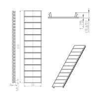 Abdeckstreifen für Kleinverteiler Sicherungskasten je 12 Module weiß grau