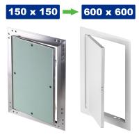 Revisionstür / Revisionsklappe / Wartungsklappe / Stahlblech oder Aluminium mit GK-Einlage / Gipskarton